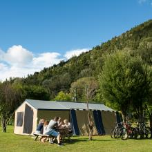 Rotorua's Blue Lake TOP 10 - Non-Powered Campsites & Campgrounds