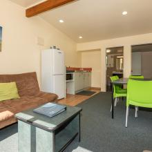Motel Unit - Living & Dining Space