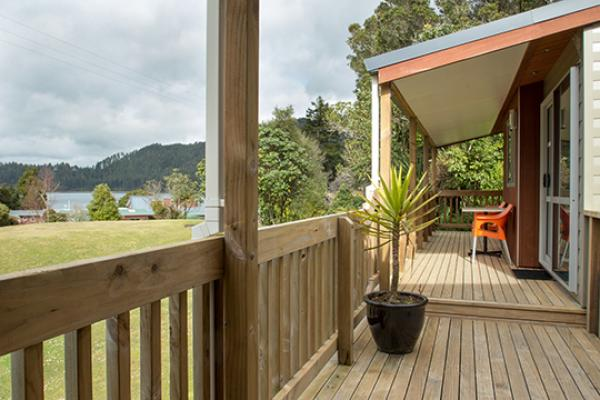 The View From Blue Lake's Motel Tikitapu View Units
